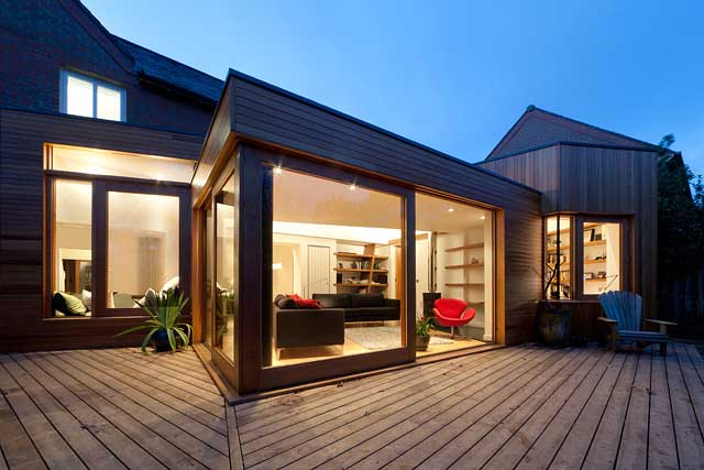 Modern home residential architecture property for Home edinburgh