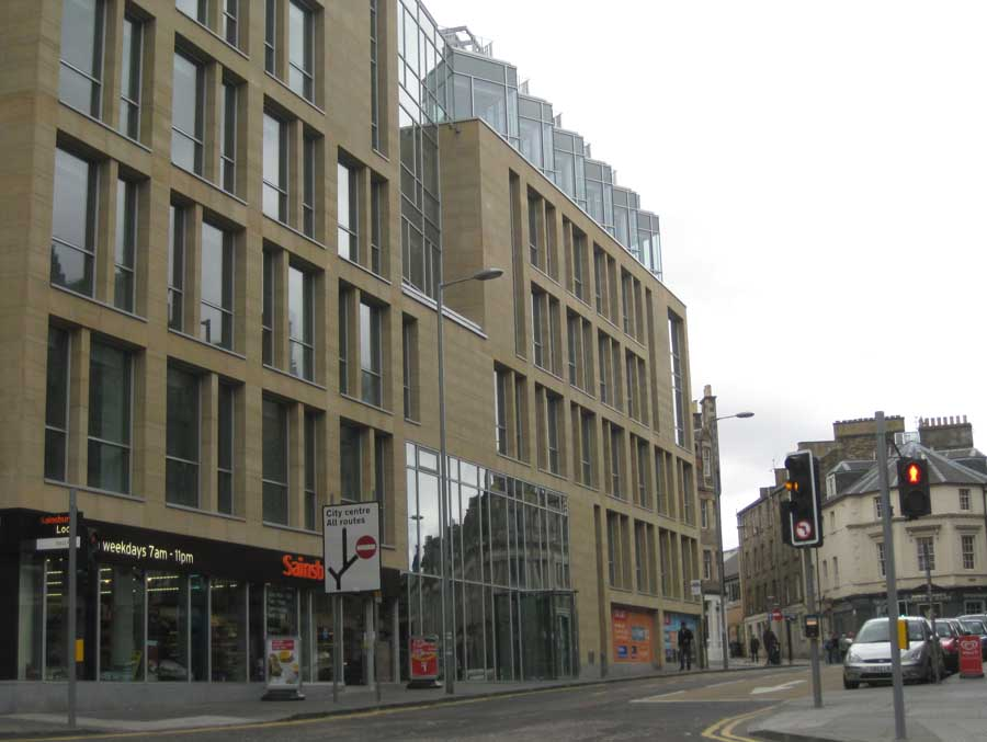 West port offices edinburgh buildings for Office design edinburgh