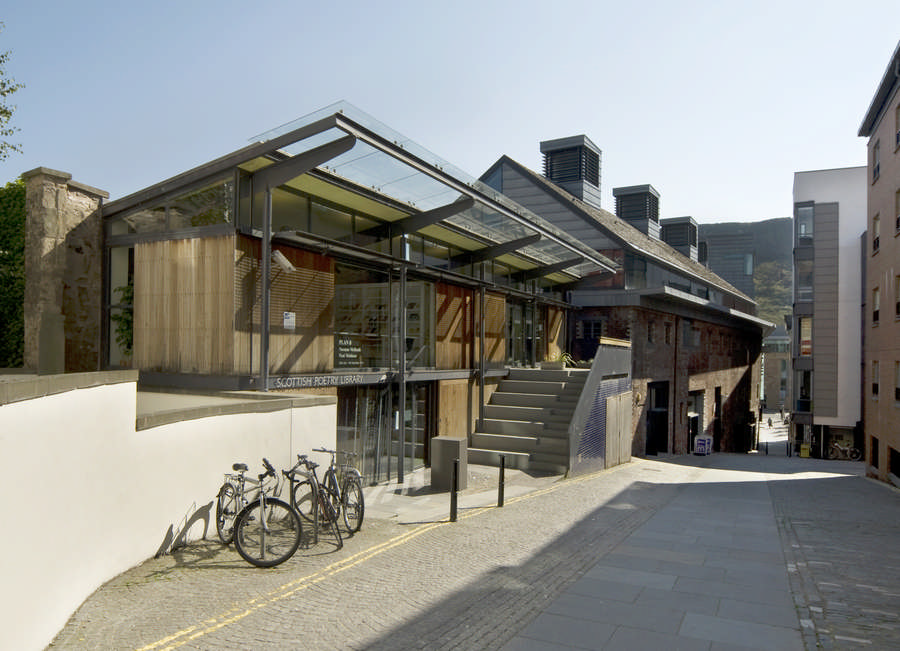 Scottish poetry library edinburgh scotland for Office design edinburgh