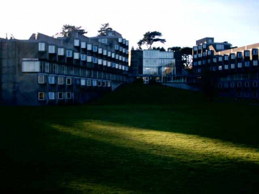 Andrew Melville Halls St Andrews Buildings