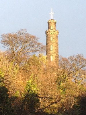 Nelsons Monument Calton Hill