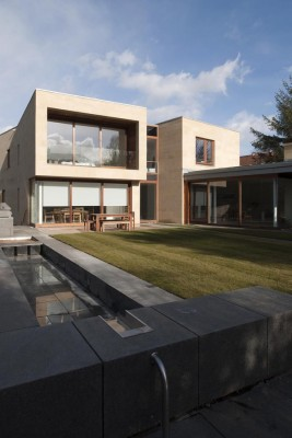 Wester Coates House Zone Architects