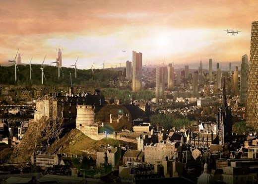 Future Edinburgh Skyline