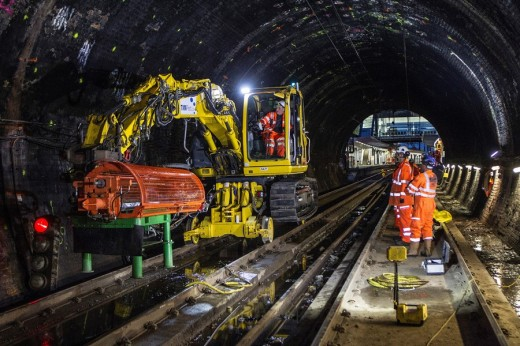 Haymarket Tunnels Strengthening Revealed