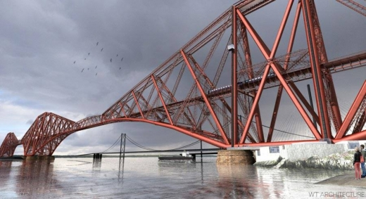 Forth Rail Bridge Viewing Platform