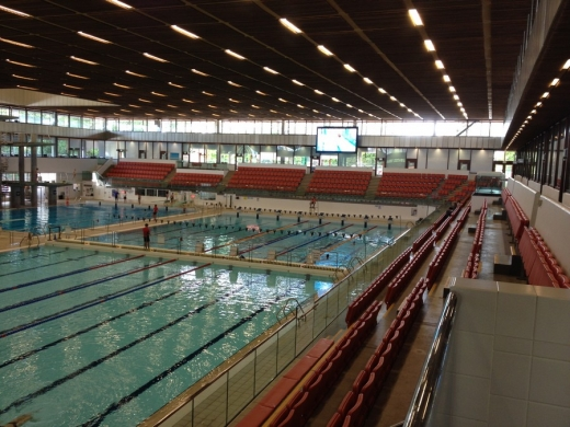 Royal Commonwealth Pool interior