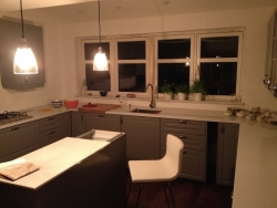 Haddington kitchen extension lighting