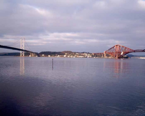 Forth Road Bridges Scotland