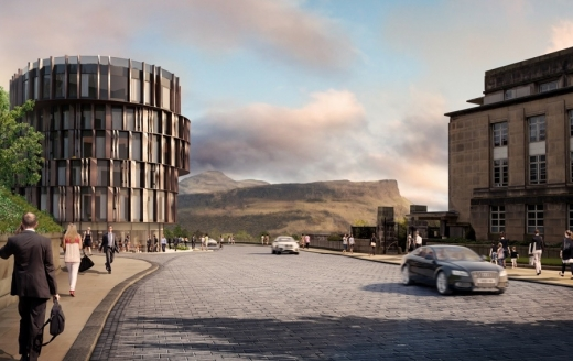 New Hotel on Calton Hill Edinburgh