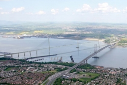 Queensfeerry Crossing Firth of Forth