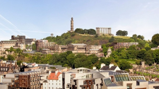 Royal High School Hotel on Calton Hill Edinburgh