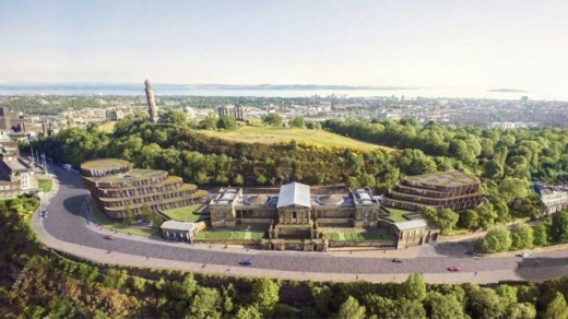 Royal High School Calton Hill Hotel in Edinburgh