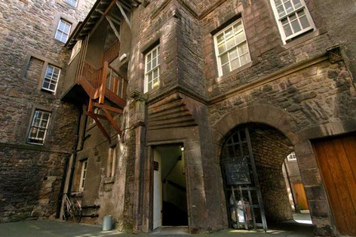 Riddles Court Old Town Edinburgh