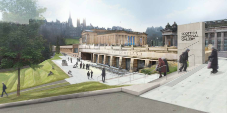Scottish National Gallery by Hoskins Architects