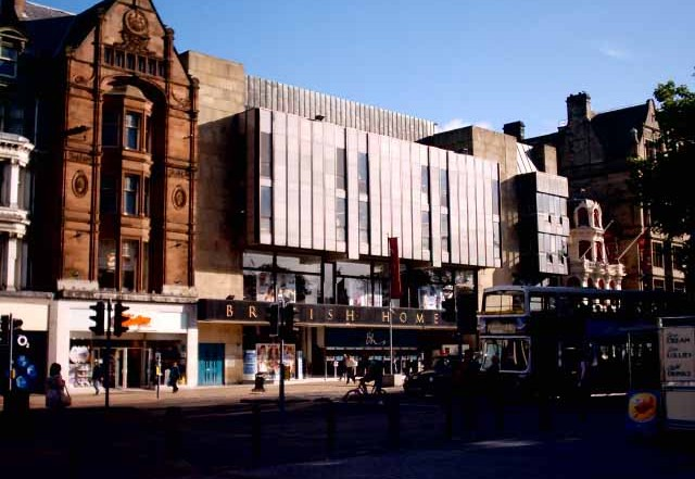 BHS Princes Street Edinburgh Building
