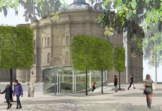 McEwan Hall Entry Renovation