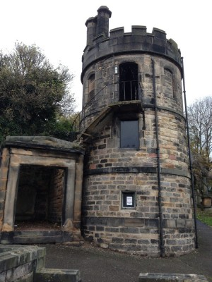 New Calton Burial Ground Edinburgh building