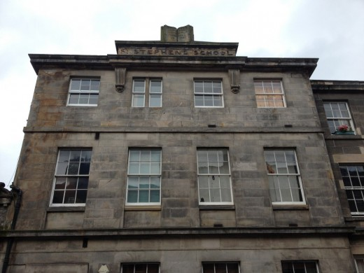 Building on St Stephen Street