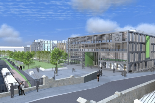 New Boroughmuir High School design