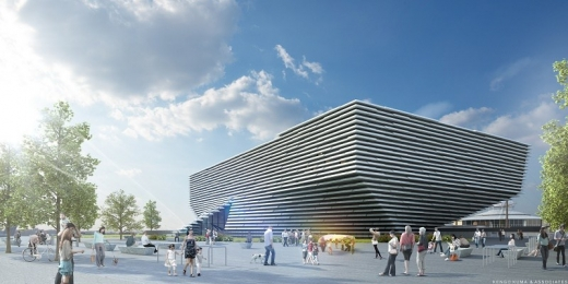V&A Museum in Dundee building design
