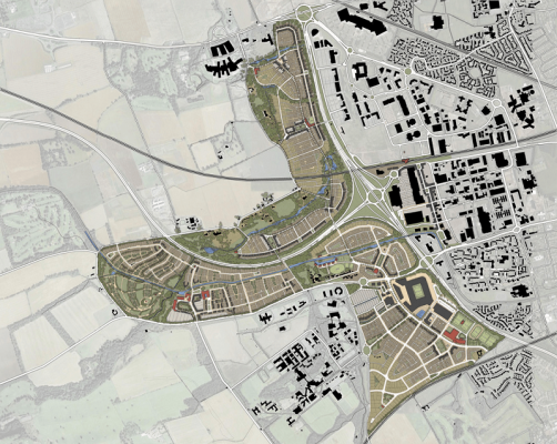 West Edinburgh Garden District masterplan
