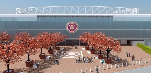 Hearts Tynecastle Stadium Building Gorgie