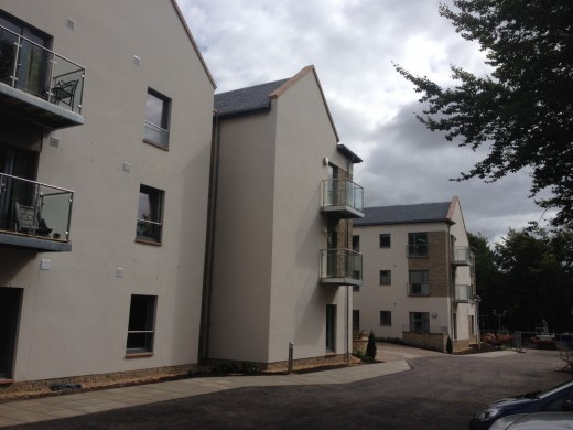 McCarthy & Stone retirement apartments at Mill Wynd, Haddington