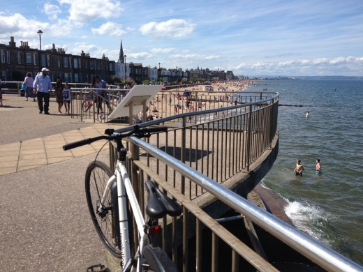 Portobello Beach from Joppa