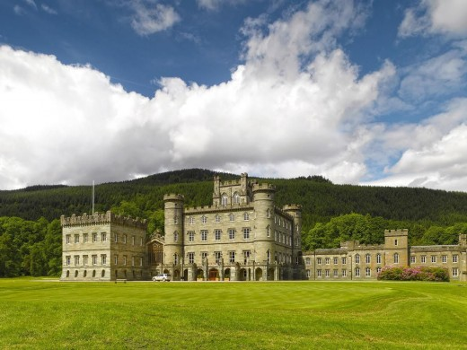 Taymouth Castle in Scotland