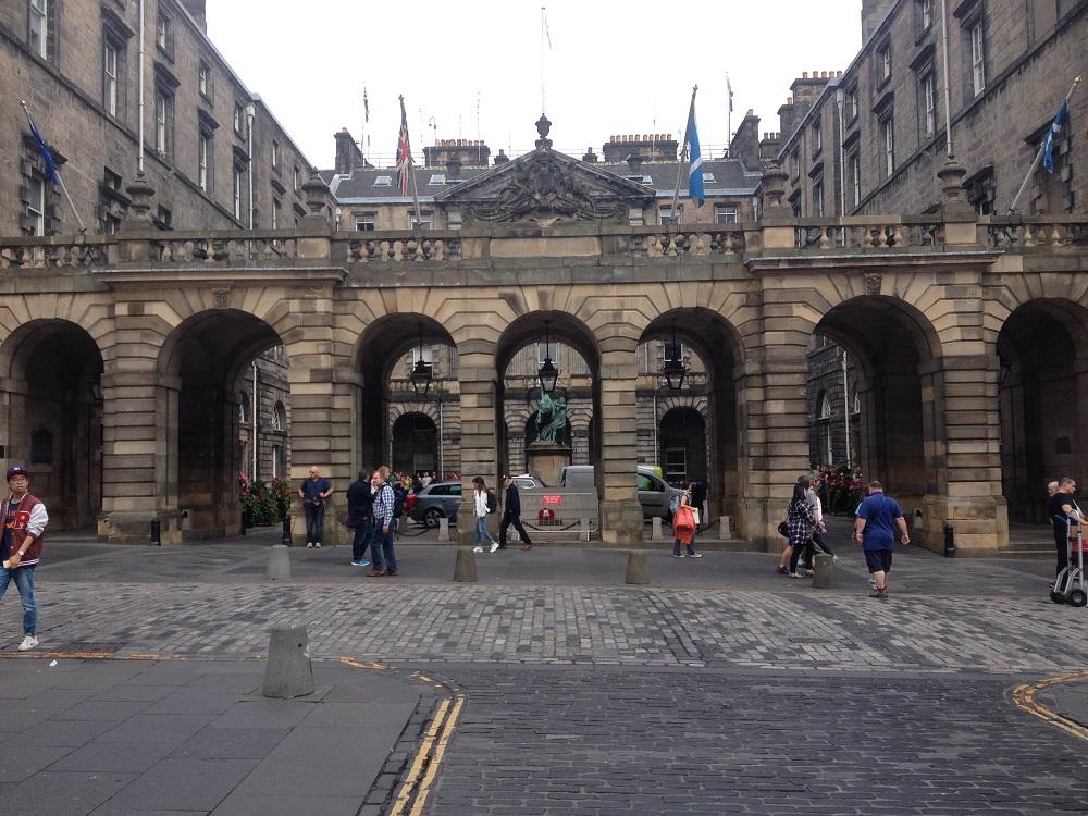 City Chambers Edinburgh Royal Mile