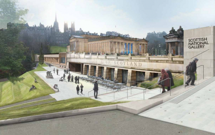 Scottish National Gallery Edinburgh Building Renewal