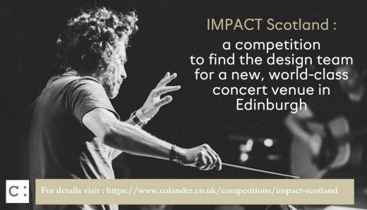 IMPACT Scotland Competition for concert venue in Edinburgh