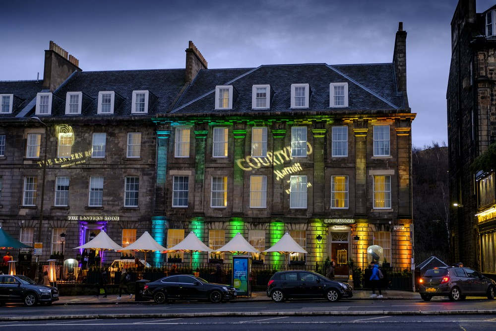 Design hotel edinburgh cm design consultants award winning for Design hotel edinburgh