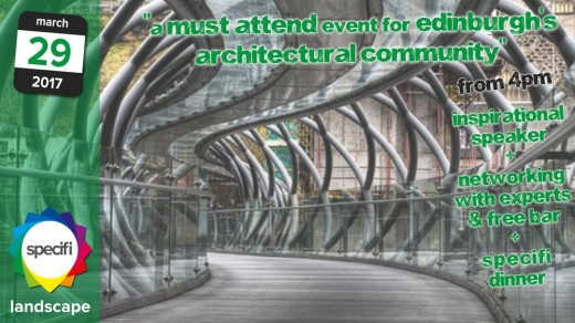 Specifi Edinburgh Architecture Event