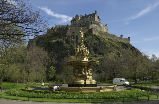 The Ross Fountain, Credit City of Edinburgh Council