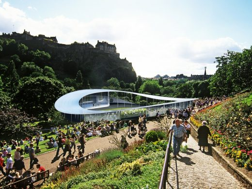 Ross Pavilion Edinburgh design by BIG Architects