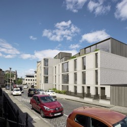 Gayfield Square building by LBA