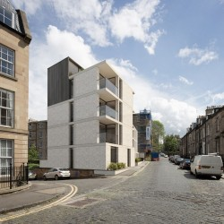 Gayfield Square building design by LBA
