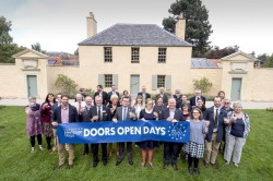 Doors Open Days 2017 launch at the Botanic Cottage Edinburgh
