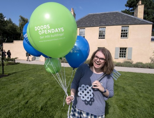 Doors Open Days 2017 launch at the Botanic Cottage in Edinburgh