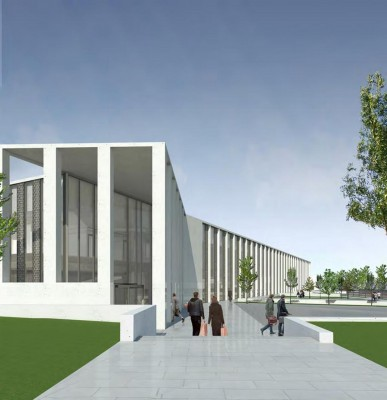 Scottish Justice Centre Building by Reiach and Hall Edinburgh