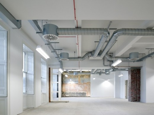 132 Princes Street offices space Edinburgh interior