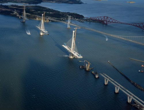 Queensferry Crossing: New Forth Road Bridge