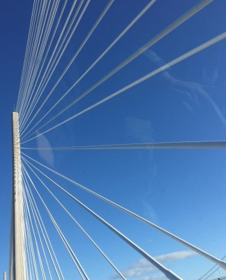 Queensferry Crossing cables