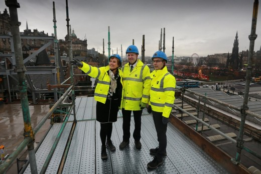 Market Street Hotel topping out