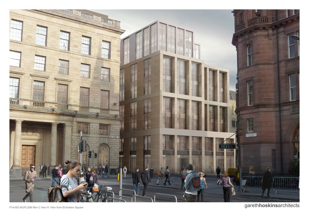 The Registers, St Andrew Square building design
