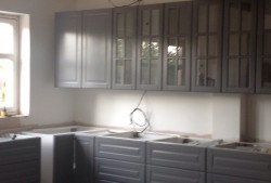East Lothian House Extension IKEA Kitchen fitting