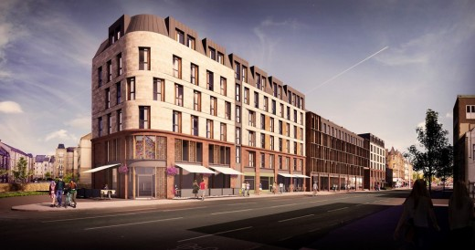 Stead's Place Leith Walk development