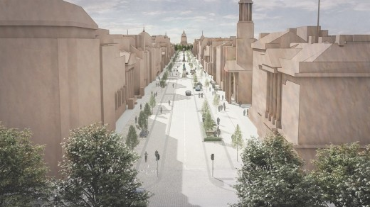 George Street Edinburgh vision design by LDA