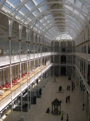 Museum of Scotland building interior